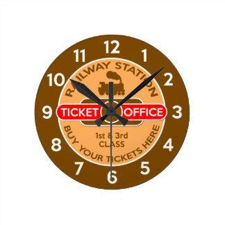 Railway Wall Clocks
