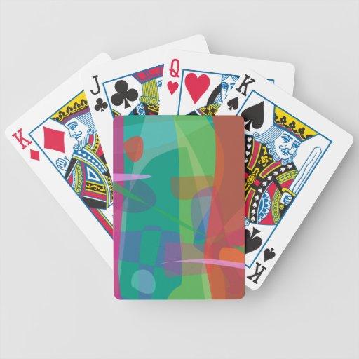 Rain 2 bicycle poker cards