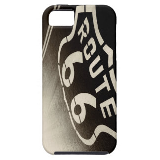 Rain and Route 66 iPhone 5 Covers
