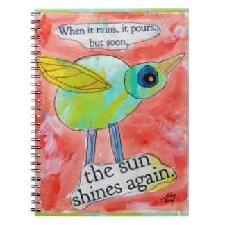 Rain Bird Notebook