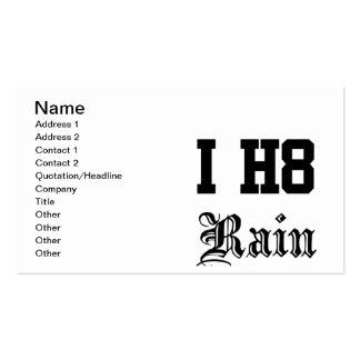 rain business cards