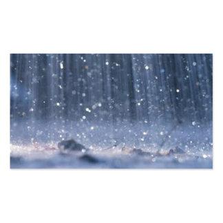 Rain Business Card Templates