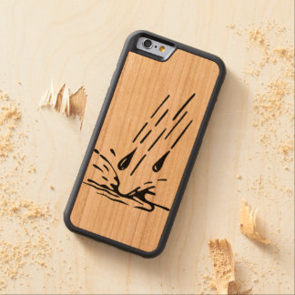 rain carved cherry iPhone 6 bumper case