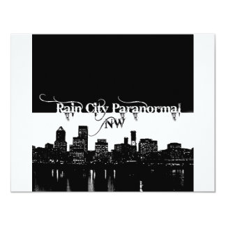 Rain City Paranormal -- Cityscape Card