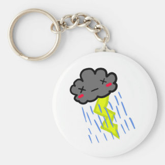 Rain Cloud Key Ring