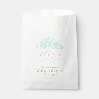 Rain Clouds Baby Shower Favour Bags
