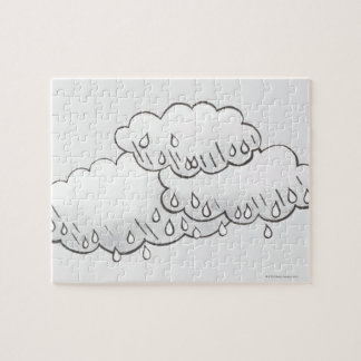 Rain Clouds Jigsaw Puzzle
