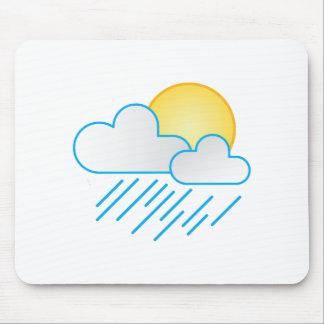 Rain Clouds Mousepad