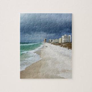 Rain Clouds over Panama City Beach, Florida Puzzle