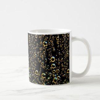 Rain Drop Basic White Mug