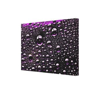 Rain Drop Stretched Canvas Print