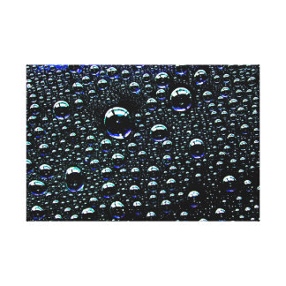 Rain Drop Gallery Wrapped Canvas