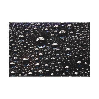 Rain Drop Canvas Prints