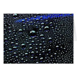 Rain Drop Greeting Cards