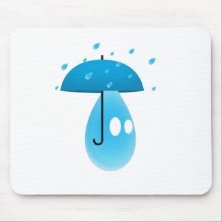 Rain Drop Mousepads