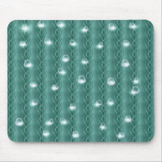 Rain drop on metal mouse pads