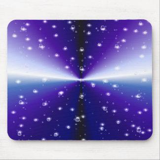Rain drop on purple rainbow mousepads