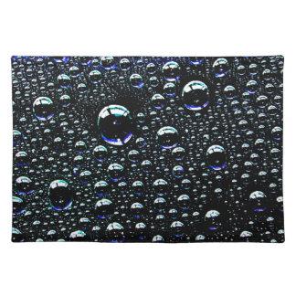 Rain Drop Placemats