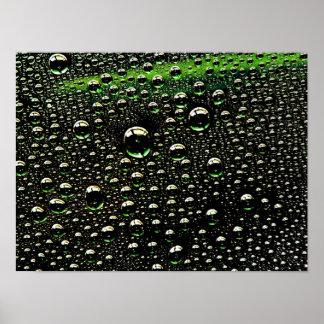 Rain Drop Poster