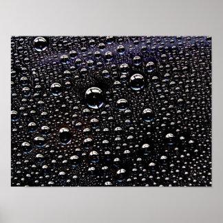 Rain Drop Print