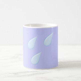 Rain drop rain drops coffee mug