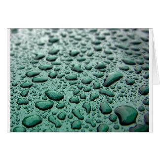 Rain Drops Cards