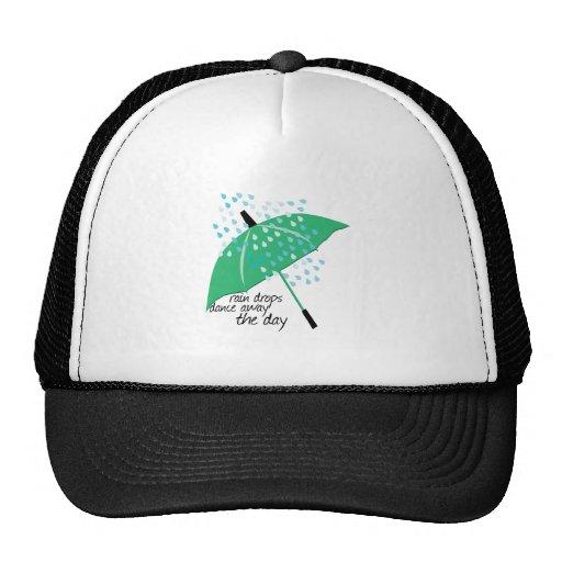 Rain Drops Dance Mesh Hat