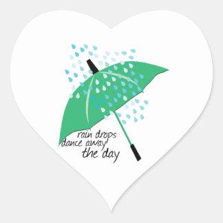Rain Drops Dance Stickers
