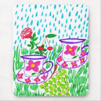 rain-drops mousepads