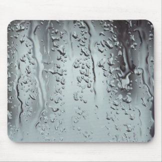 Rain Drops on Glass Mouse Pad