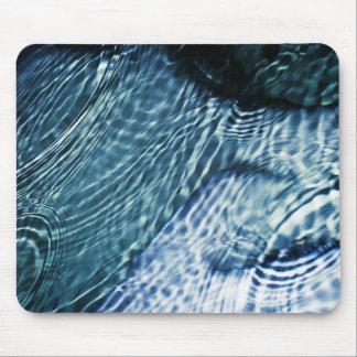 Rain drops on water mousepads