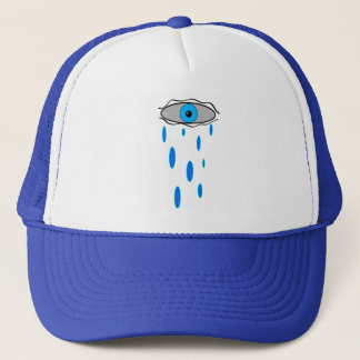rain eye trucker hat