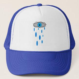 rain eye trucker hat