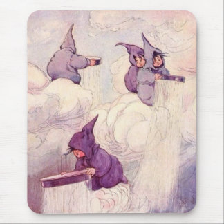 Rain Faeries Making Rain Mouse Mat