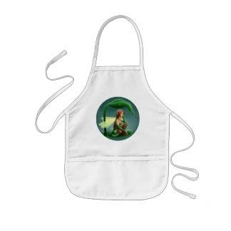 Rain fairy kids apron