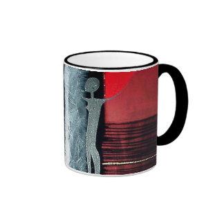 Rain for my fields of gold ringer coffee mug