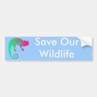 Rain Forest Animals Bumper Sticker