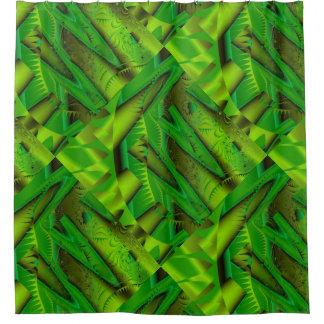 Rain Forest Fractals Shower Curtain