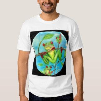 Rain Forest Green Tree Frog Shirts
