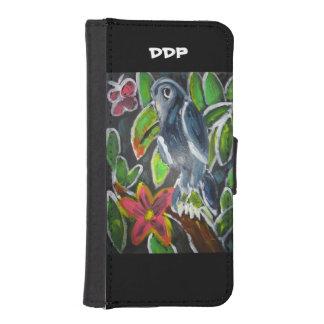 Rain forest  toucan art iPhone SE/5/5s wallet case