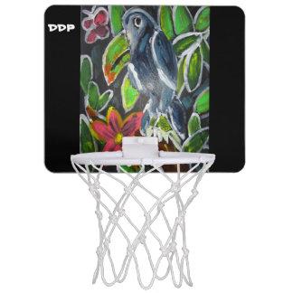 Rain  Forest  Toucan art Mini Basketball Hoop
