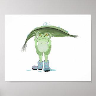 Rain Frog Poster