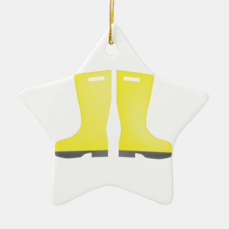 Rain Galoshes Christmas Ornament