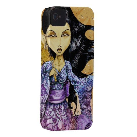 Rain Geisha iPhone 4 Case