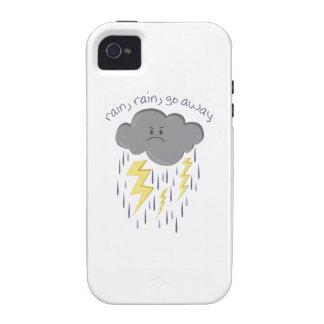 Rain Go Away Case-Mate iPhone 4 Cases