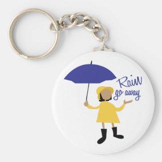 Rain Go Away Keychains