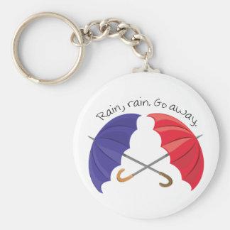 Rain Go Away Keychain