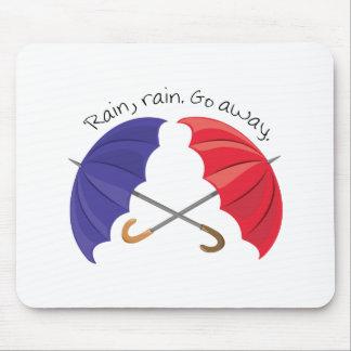 Rain Go Away Mousepads