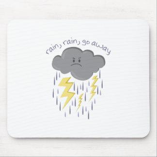 Rain Go Away Mousepad