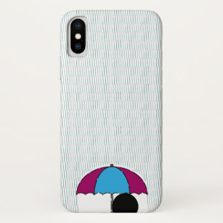 Rain iPhone X Case